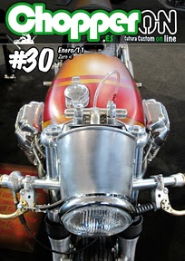 Portada ChopperON #30, Revista Custom Online