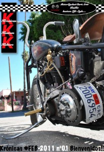 Portada Kronica Kustom Kulture #1, Revista Custom Online