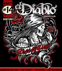 Portada El Diablo Magazine #14 Revista Custom Online
