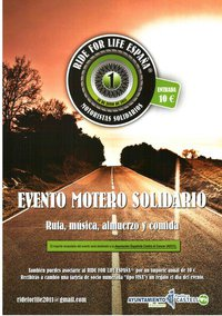 Cartel Ride For Life España®
