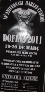 Estuvimos en Dofins 2011