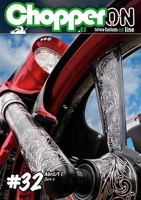 ChopperON #32, Revista Custom Online