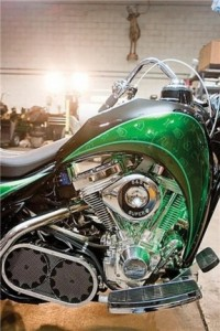 La moto híbrida de Orange County Choppers y Schneider Electric