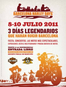 Barcelona Harley Days, Cartel
