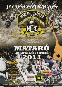 Concentracin Maresme Biker Days 2011