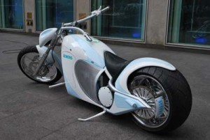 La moto eléctrica de Orange County Choppers y Siemens, 002
