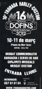 Estuvimos en Dofins 2012, cartel