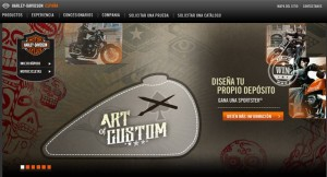 Harley-Davidson lanza un concurso online de customizacion de depositos
