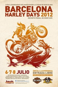 Barcelona Harley Days 2012