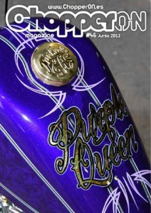 ChopperON #46 - Junio 2012, Revista Custom Online