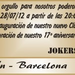 Invitación Inauguracion Club House Jokers MC