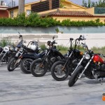 Motos de la Custom Beach Party