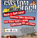 Cartel de la Custom Beach Party