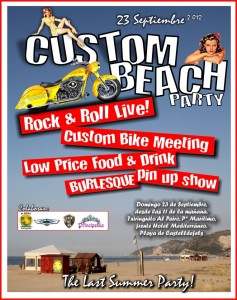 Estuvimos en la Custom Beach Party