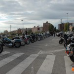 Parking del 4 Aniversario Cabrera Chopper