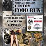 Cartel de la Custom Food Run