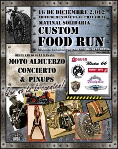 Estuvimos en la Custom Food Run