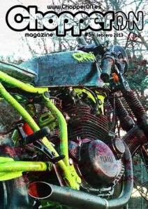 ChopperON #54, Revista Custom Online - Febrero 2013
