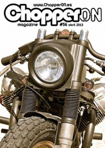 ChopperON #56, Revista Custom Online Abril 2013