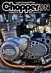 ChopperON #57, Revista Custom Online Mayo 2013