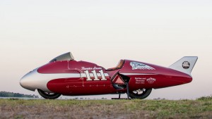 "Indian ""Spirit of Munro"", el homenaje a Burt Munro"