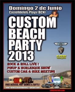 Custom Beach Party 2013, por Gemma Encinas