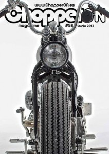 ChopperON #58, Revista Custom Online Junio 2013