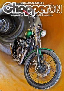 ChopperON #59, Revista Custom Online Julio 2013