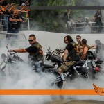 Burnout en XXX Big Twin 2013