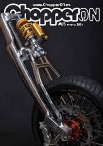 ChopperON #65, Revista Custom Online Enero 2014