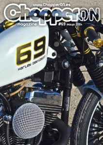 ChopperON #69, Revista Custom Online Mayo 2014