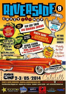 Estuvimos en Riverside 9 2014, Crazy Car Hop