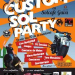 Cartel de la Custom Sol Party