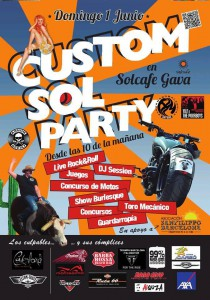 Estuvimos en la Custom Sol Party