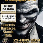 Cartel de la Summer Party de Jokers MC