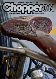 ChopperON #71, Revista Custom Online Julio 2014