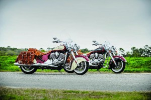Indian Chief Classic, Chief Vintage y Chieftain; estrenarán colores para el 2015