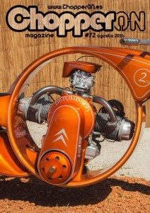 ChopperON #72, Revista Custom Online Agosto 2014