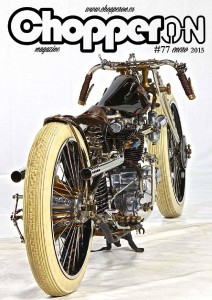 ChopperON #77, Revista Custom Online Enero 2015