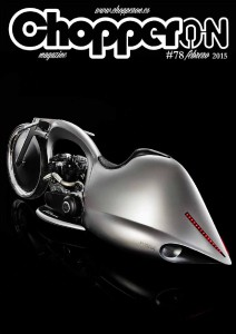 ChopperON #78, Revista Custom Online Febrero 2015