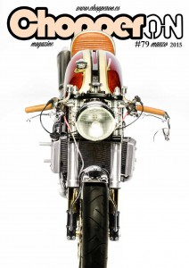 ChopperON #79, Revista Custom Online Marzo 2015